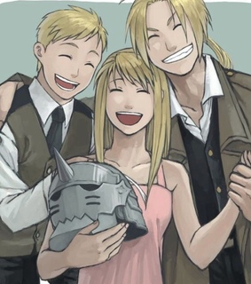 fullmetal, elric and alphonse