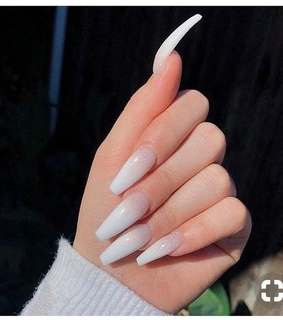 nails, pretty and girl