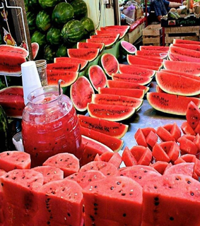 summer, watermelon and healthy