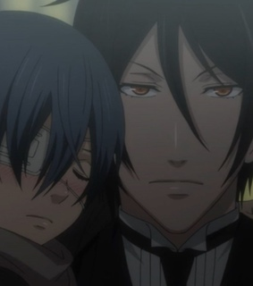 black butler, demon and anime