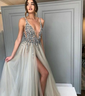 dress, fashion and silver