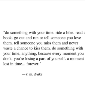 happiness, quote and r.m drake
