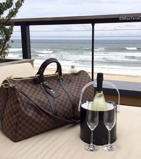 Louis Vuitton, ocean and luxury
