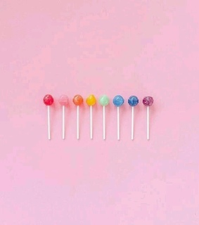colors, lollipop and rainbow
