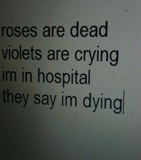 dead, love and violets