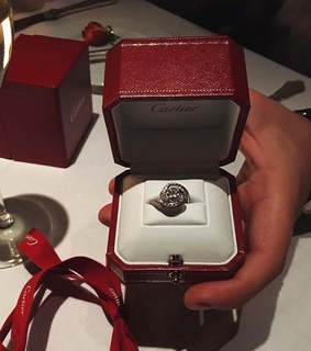 cartier, diamond ring and luxury