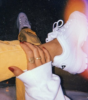 sneakers, casual and jewelry