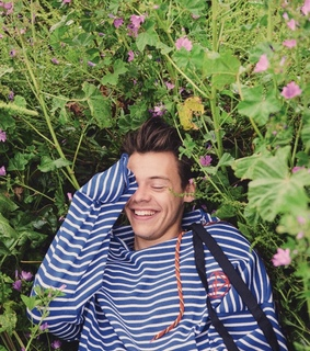 pretty, flowers and dimples