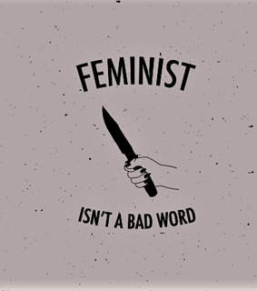 feminist and word