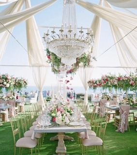 weddings, garden and romance