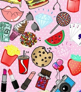 sweets, money and yummy