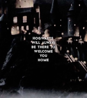 harry potter, always and home