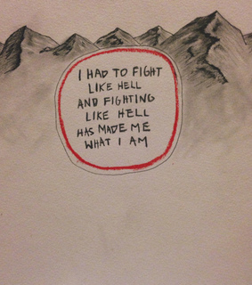 art, strong and mountains