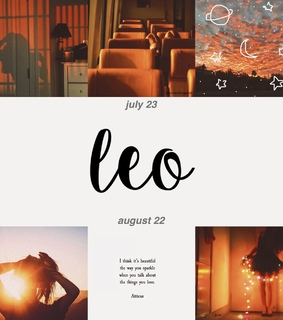 the lion, Leo and horoscopes