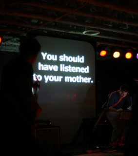 listen, mother and words