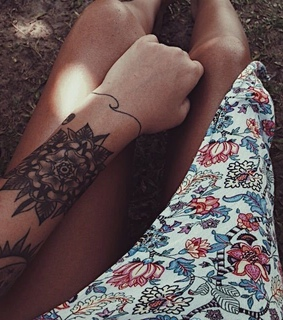 summer, tan and ink