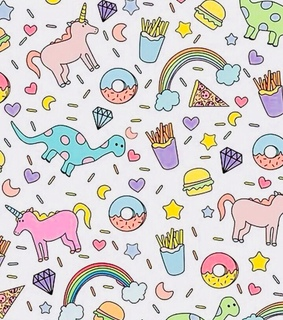 rainbows, unicorn and goals