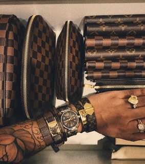 Louis Vuitton, expensive and cartier
