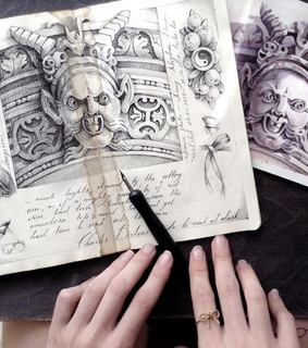book, art and amazing