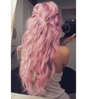 hairstyle, colour and cute