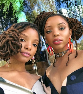 loc'd hair, singers and sisters