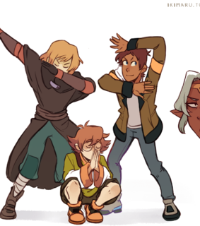 Voltron, matt and lance