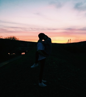 girl, goals and sunset