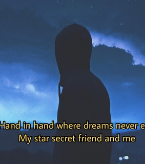 someone in the dark, sky and quotes