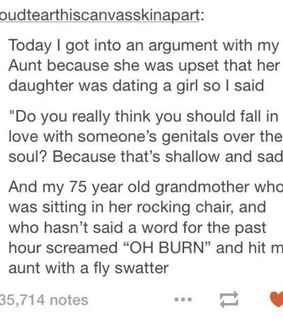 grandmother, quote and lesbian