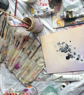 paint, aesthetic and photography