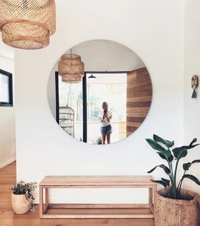 mirror, deco and modern