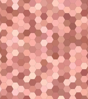 tan, hexagons and backgrounds
