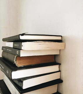 house, decoration and books