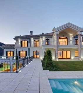 money, mansion and house
