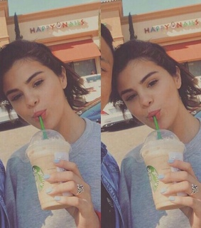goals, selena gomez and starbucks