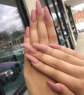 nails, top and long