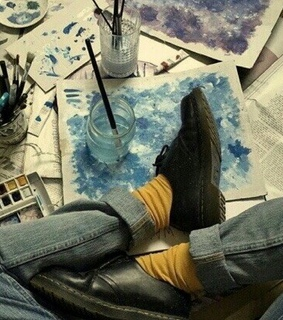 art, alternative and shoes