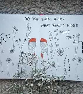 quotes, sketchbook and inspiration