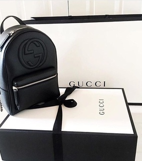 gucci backpack, luxury and shopping