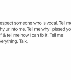 communication, talk and respect