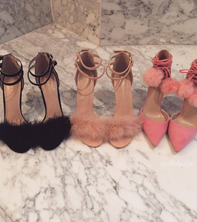 three, shoes and pink