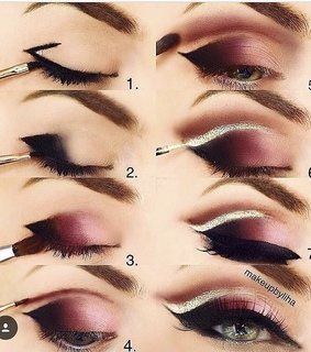 fashion, eyeshadow and makeup