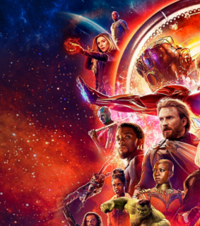 guardians of the galaxy, header and thanos