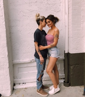 lesbian, happy and gay
