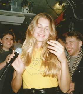karaoke night, london and 35mm photography
