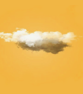 yellow and cloud