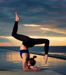 yoga, active and healthy