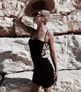 model, travel and fashion