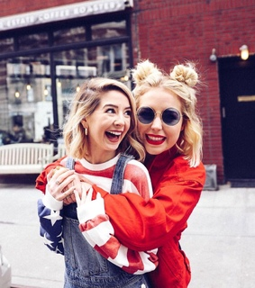 poppy deyes, friends and new york