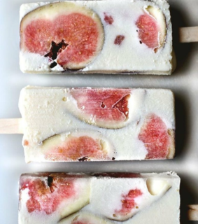 popsicles, ice cream and summer